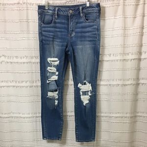 American Eagle Outfitters Distressed Jegging